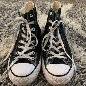 Black Chuck Taylor Converse Shoes